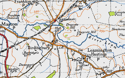 Old map of West View in 1946