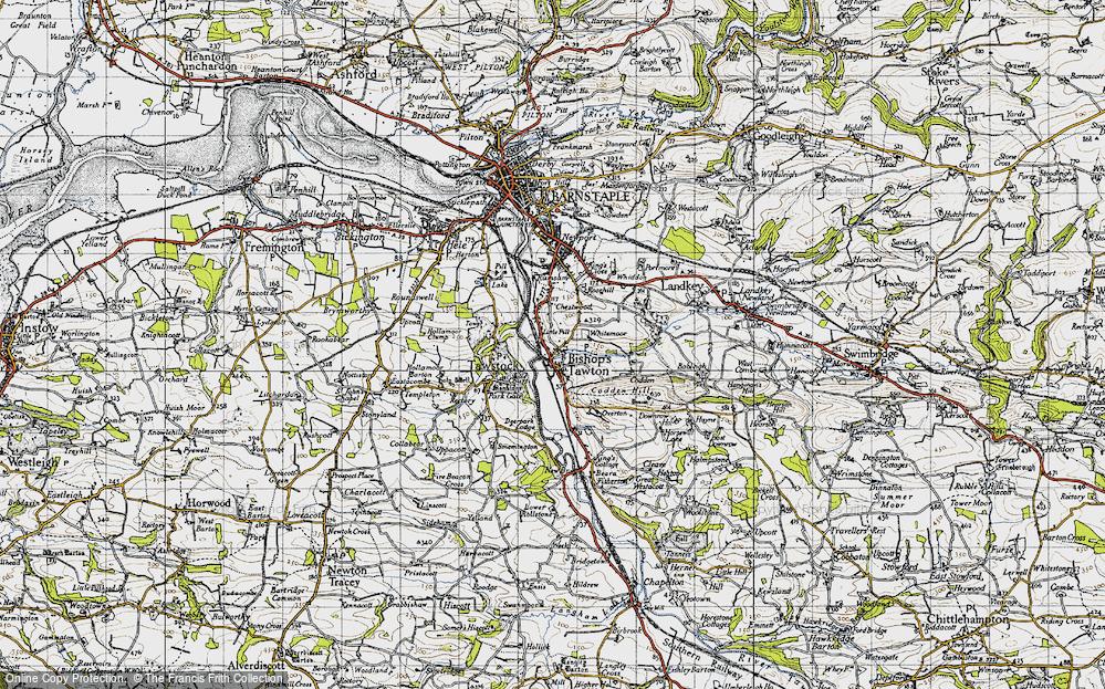 Bishop's Tawton, 1946