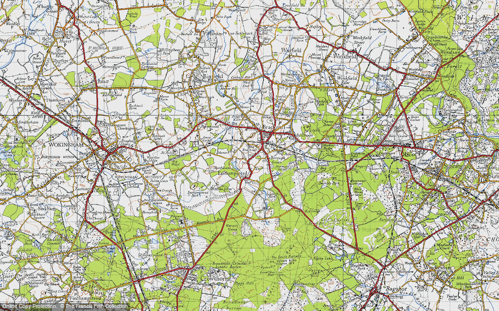 Old Maps of Bracknell Francis Frith