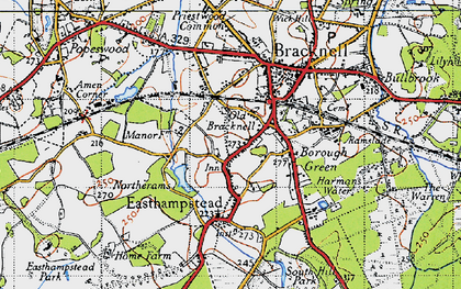 Bracknell photos maps books memories Francis Frith
