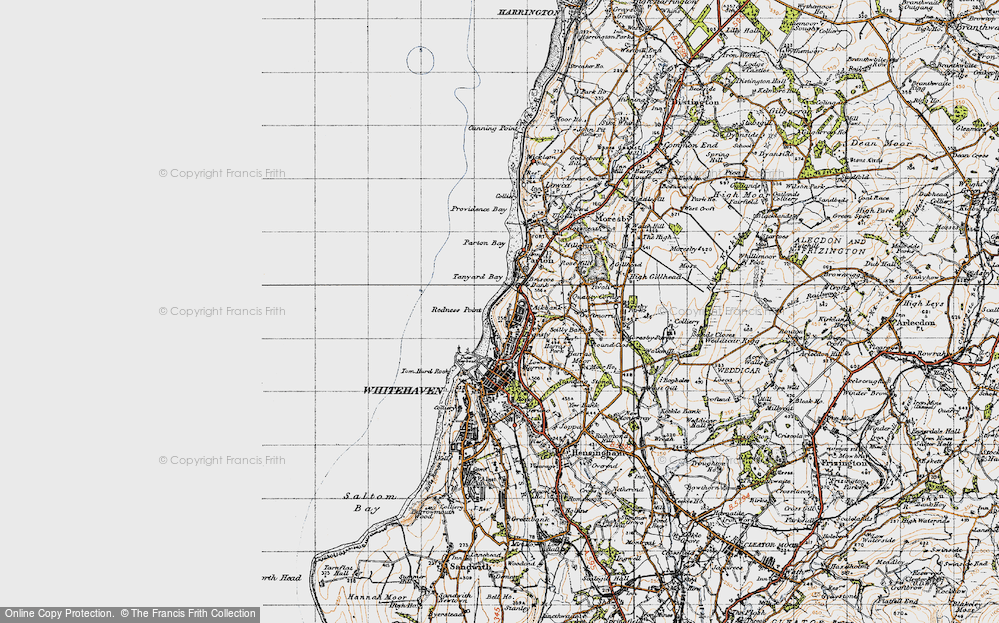 Old Map of Bransty, 1947 in 1947