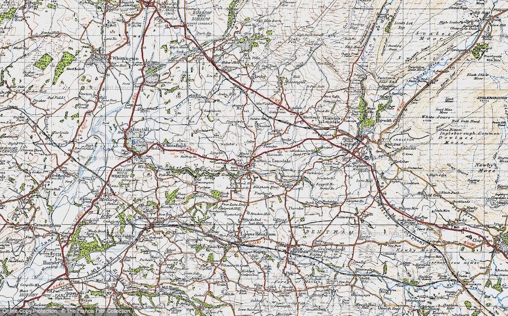Burton in Lonsdale, 1947