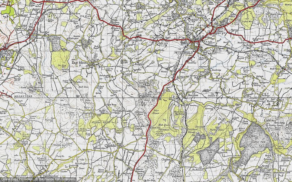 Butser Hill, 1945