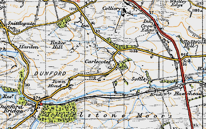 Old map of Tinker Hill in 1947