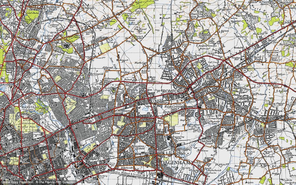 Chadwell Heath, 1946