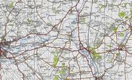 Map of Chalton, 1946