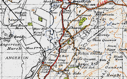 Old map of Chapels in 1947