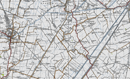 Map of Christchurch, 1946