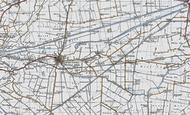 Map of Coates, 1946