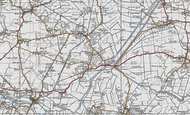 Map of Colne, 1946