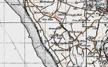 Old map of Ashley Grove in 1947