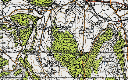 Old map of Baileybrook in 1947