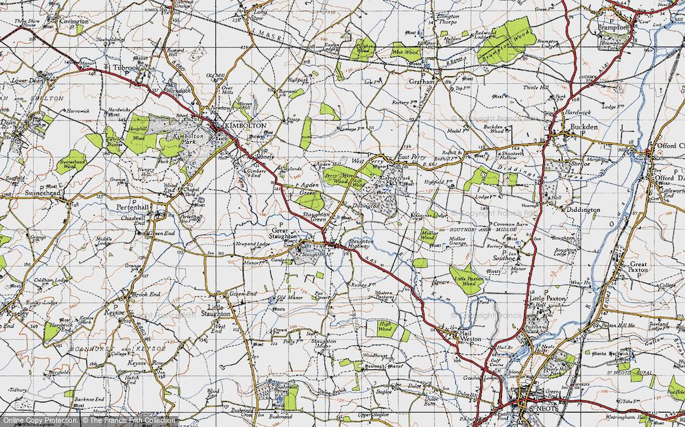 Dillington, 1946