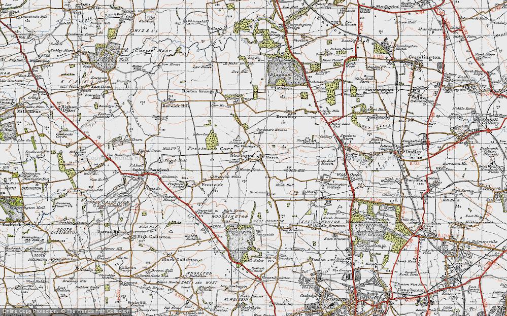 Dinnington, 1947