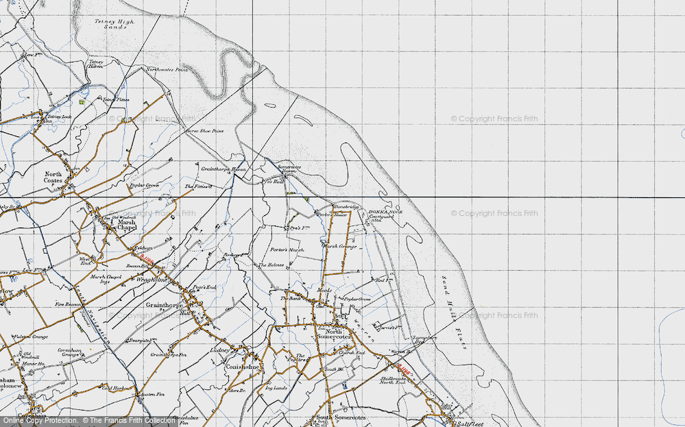 Old Map of Historic Map covering Laramie in 1946