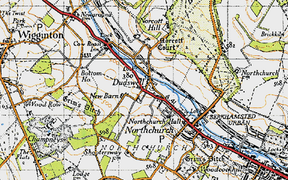 Old map of Dudswell in 1946