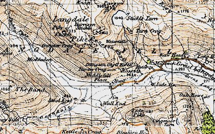 Old map of Band, The in 1947