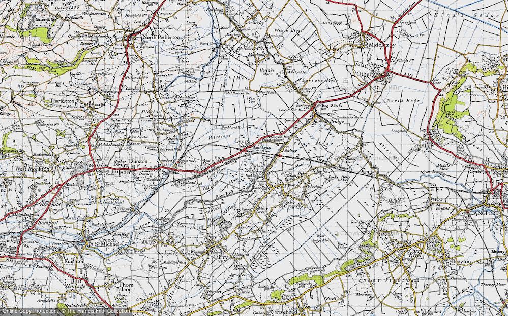 East Lyng, 1945