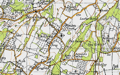 Old map of Tong Ho in 1946