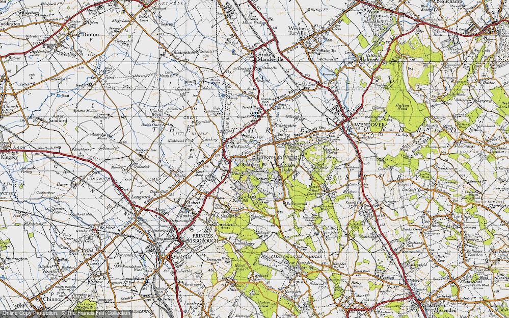 Old Map of Ellesborough, 1946 in 1946