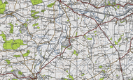 Map of Elton, 1946