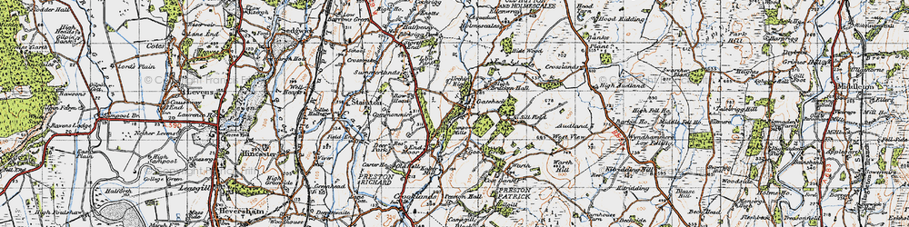 Old map of West View in 1947