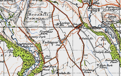 Old map of Aumery Park in 1947