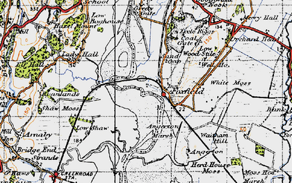 Old map of Foxfield in 1947