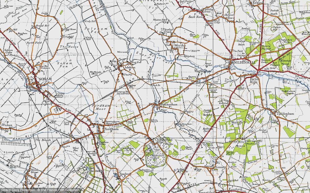 Freckenham, 1946