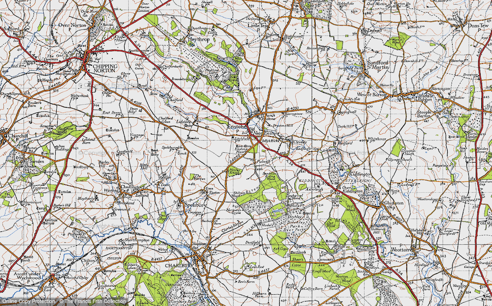Old Map of Fulwell, 1946 in 1946