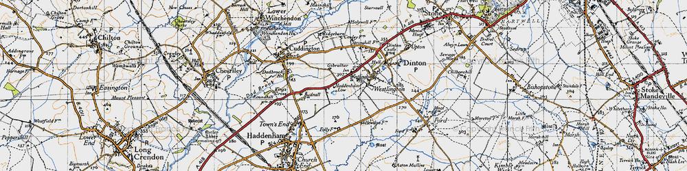 Old map of Westlington Ho in 1946