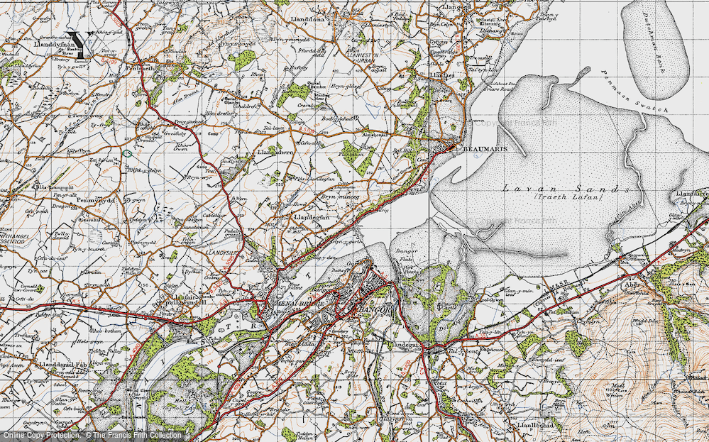 Old Map of Glyngarth, 1947 in 1947