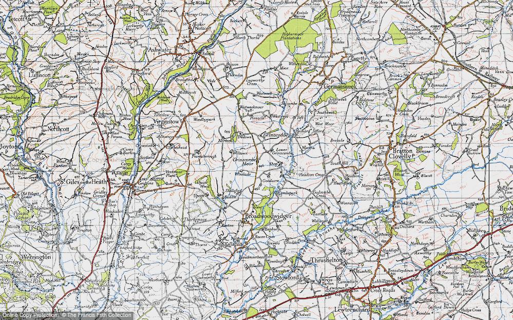 Grinacombe Moor, 1946