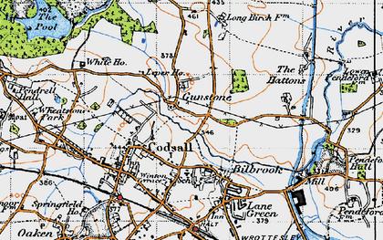 Old map of Leper Ho in 1946