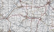 Map of Haddenham, 1946