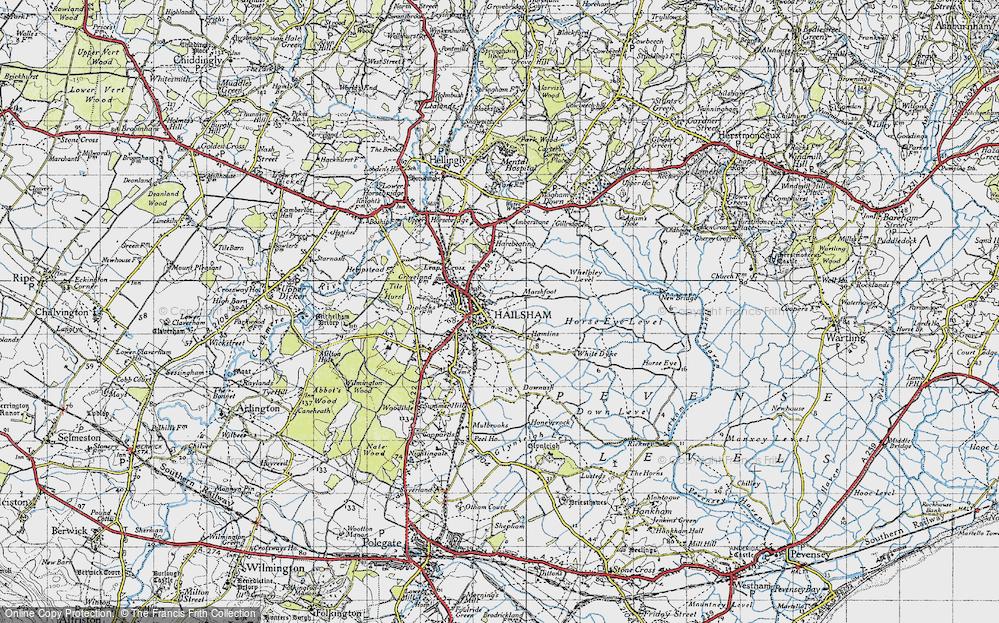 Hailsham, 1940