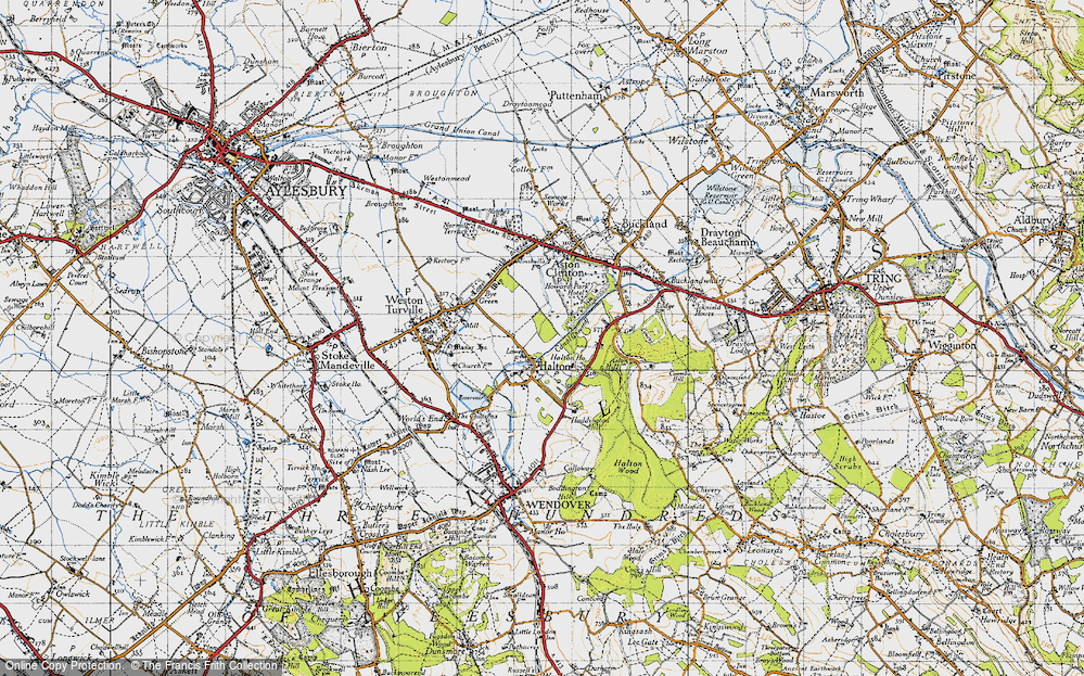 Old Map of Halton, 1946 in 1946
