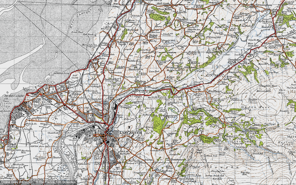 Old Map of Halton, 1947 in 1947