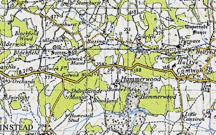 Crippenden Manor photos, maps, books, memories