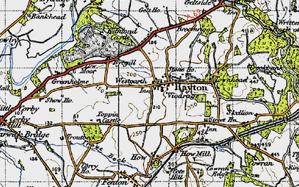 Old map of Westgarth in 1947