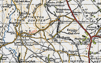 Old map of Lean Low in 1947
