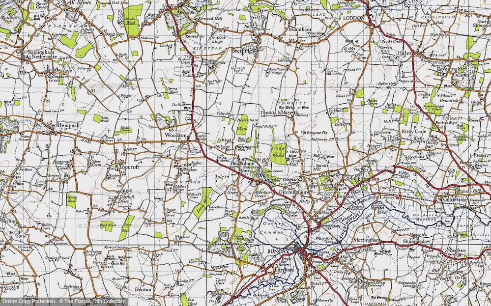 Hedenham, 1946