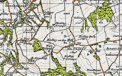 Old map of West Riding in 1947