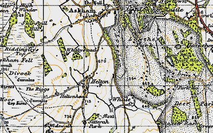 Old map of Askham Fell in 1947
