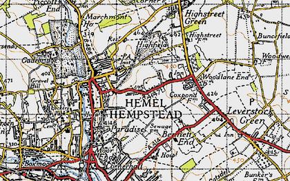 Map Of Hemel Hempstead Hemel Hempstead photos, maps, books, memories Map Of Hemel Hempstead