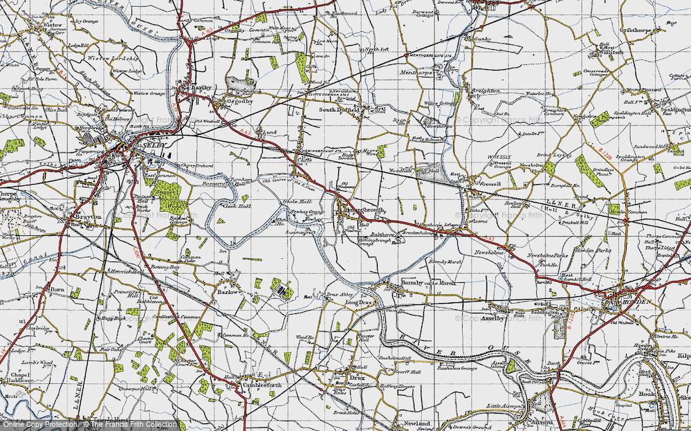 Old Map of Hemingbrough, 1947 in 1947