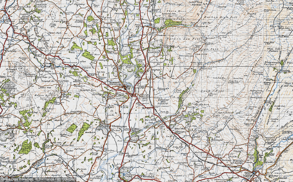 Old Map of High Casterton, 1947 in 1947