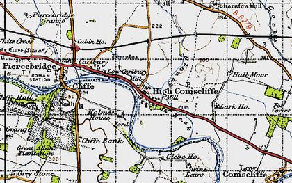 Old map of Lark Ho in 1947