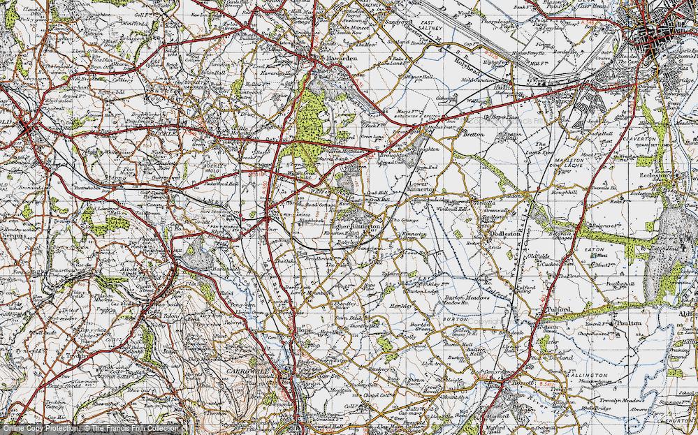 Higher Kinnerton, 1947