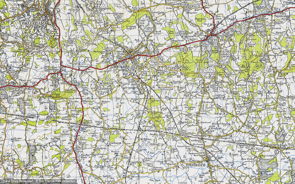 Old Map of Holland, 1946 in 1946